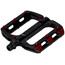 Sixpack Menace Pedals red/black